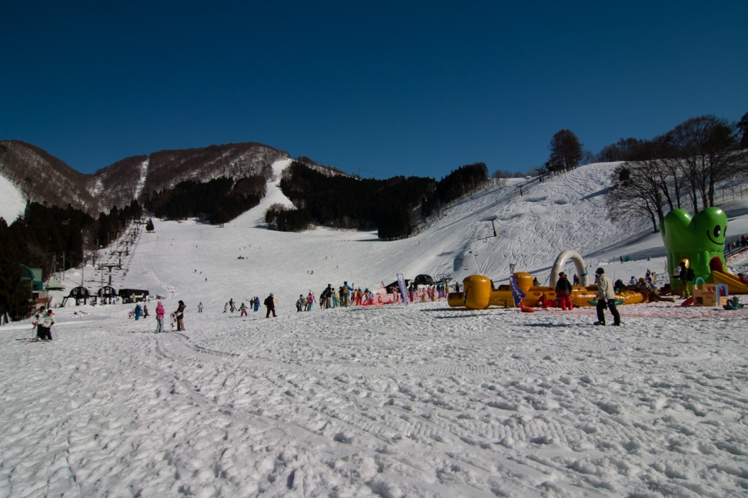 Just one small corner of the skifield
