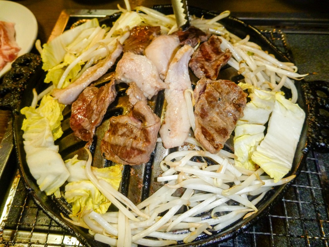 Dinner at the Korean BBQ