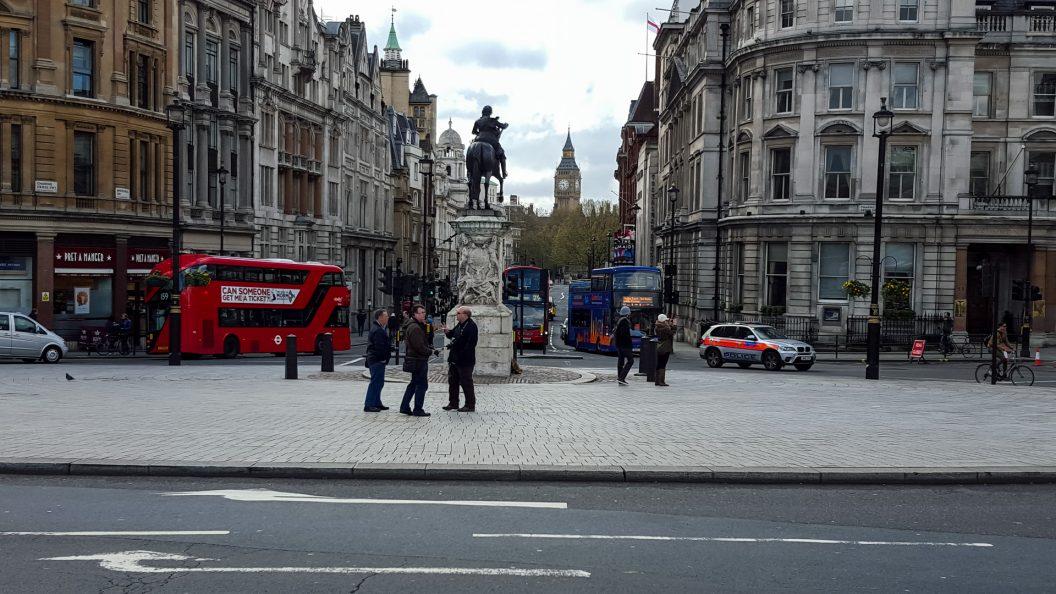 View down Whitehall